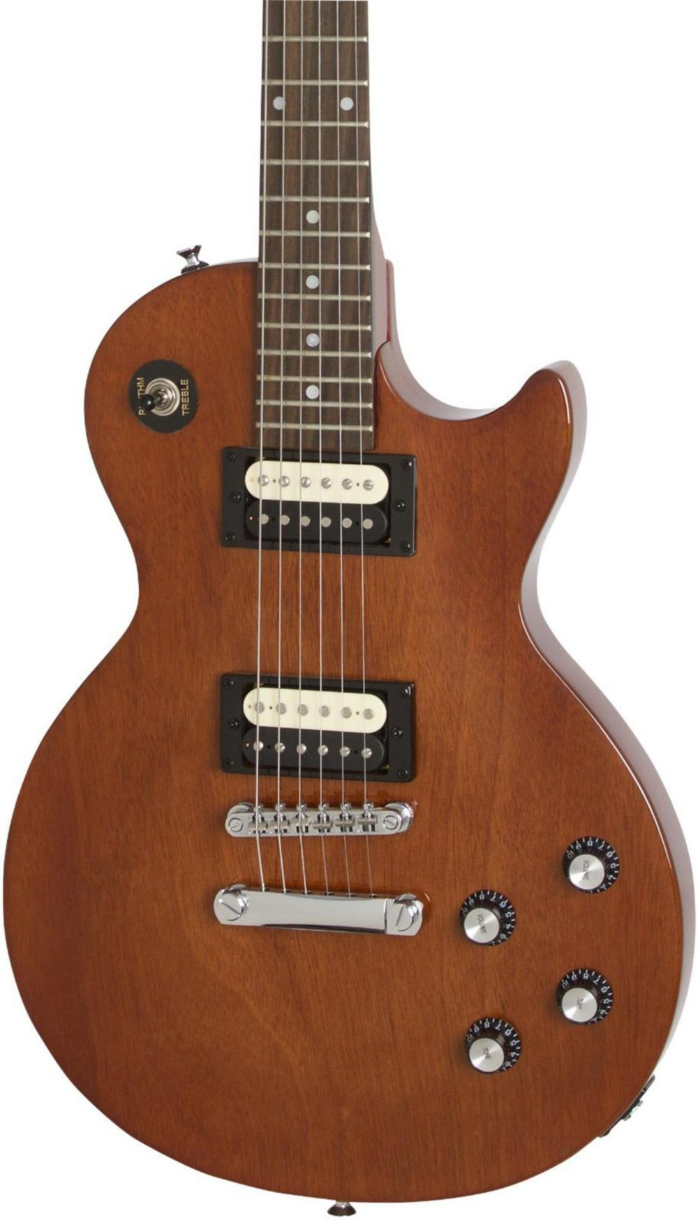 Epiphone ENPTWLNH1 Solid Body Electric Guitars Les Paul Studio LT, Walnut