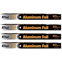 Extra Heavy Duty Large Aluminum Foil Roll 37.5' Sq Ft 18 Inch Wide Super Strength Great for BBQ Roasting Boiling Baking…