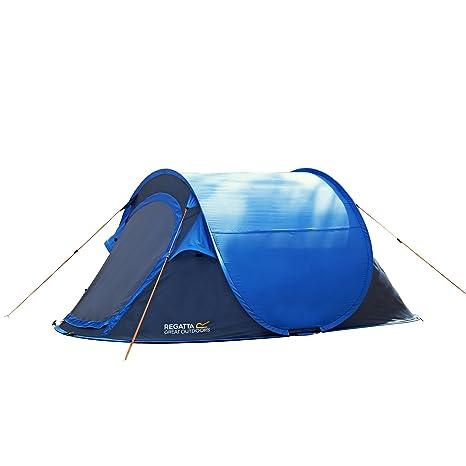 best cheap c42a9 6026f Regatta Waterproof Malawi Unisex Outdoor Pop-Up Tent