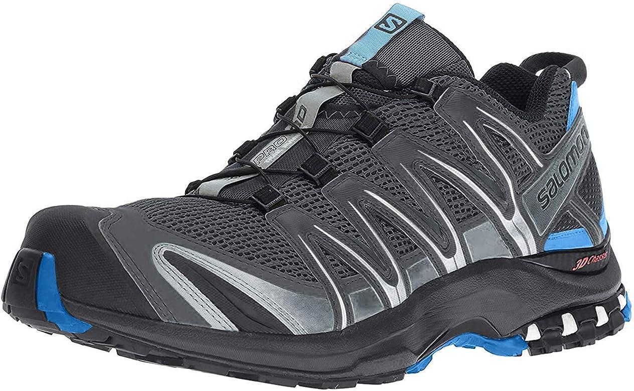 Salomon XA Pro 3D, Zapatillas de Trail Running para Hombre, Gris Stormy Weather Black Hawaiian Surf, 45 1/3 EU: Amazon.es: Zapatos y complementos