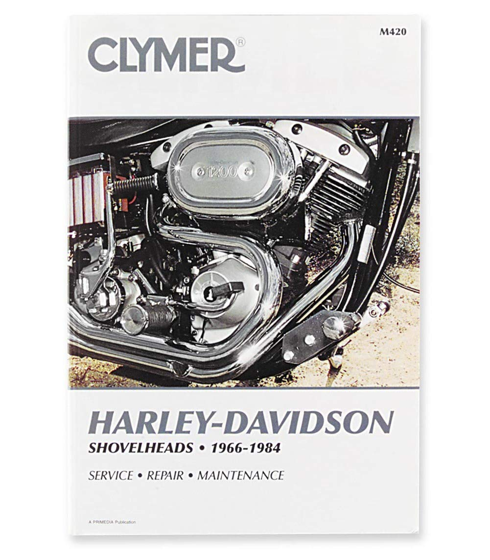 Amazon.com: Clymer Harley-Davidson Shovelheads (1966-1984) (53143):  Automotive