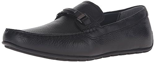 Mocasines para Hombre, Color Negro, Marca CALVIN KLEIN, Modelo Mocasines para Hombre CALVIN KLEIN GNACIO Tumbled Negro: Amazon.es: Zapatos y complementos