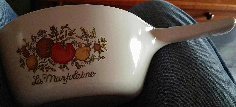 Vintage Corning Ware La Marjolaine 1 1/2 pint saucepan Handle (P-82-B)