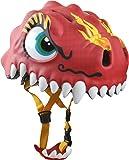 Loca seguridad chico dragón chino casco - rojo, 49-55cm