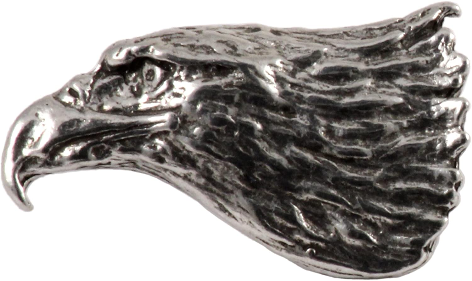 Bald Eagle Head Bird Pewter...