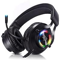 Headset gamer fone de ouvido usb com microfone Adamantiun Hiperion V2 pc ps4 ps5 ps3 notebook com adaptador type c…