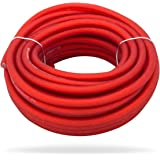 InstallGear 10 Gauge Red 25ft Power/Ground Wire True Spec and Soft Touch Cable