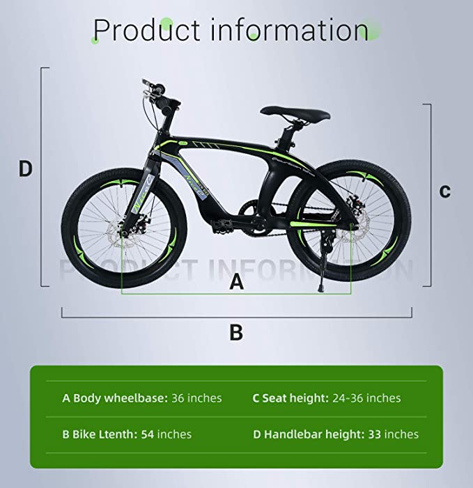 """Blue with Dual Disc Brakes NEW Details about  /NiceC 20/"""" BMX Bike"""