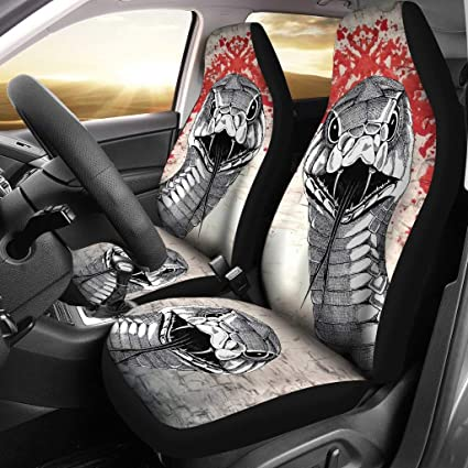 Amazon Com Pet Animal Designs Sketch Of Snake Print Car Seat Covers