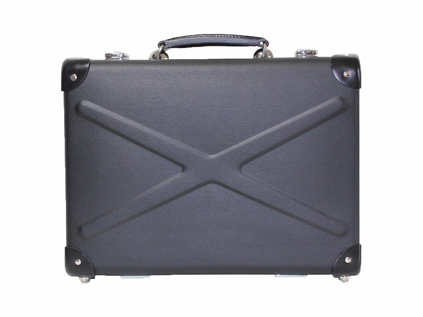 [HOKUTAN]ホクタン アタッシュケース トランクケース スーツケース FX B4サイズ ヴァルカンファイバー製 Made in Japan  ブラック B07DG1HNZ6