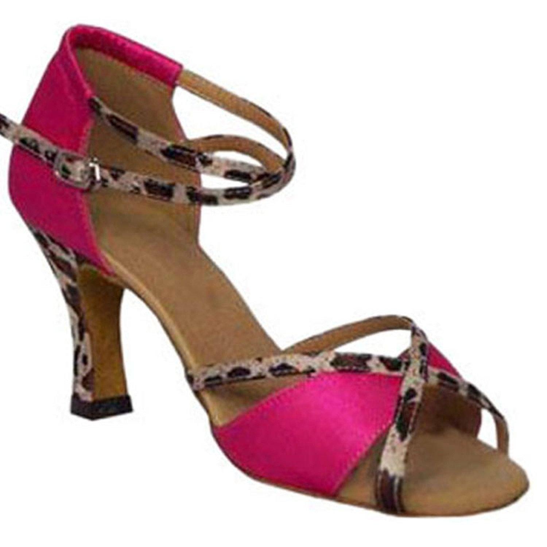 BYLE BYLE BYLE Leder Sandalen Riemchen Samba Modern Jazz Tanzen Schuhe Sommer Nach Latin Tanzen Schuhe Armband Lila Onecolor 8ab581