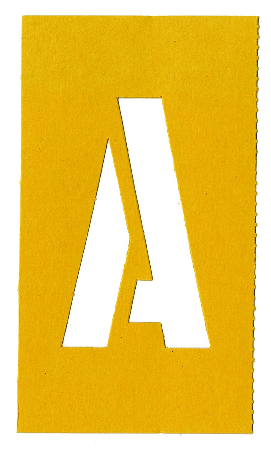 Amazon.com : Chartpak Letter and Number Painting Stencils, A-Z and 0 ...