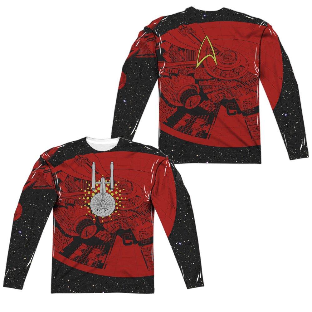 a4006091f 【Questions about Star Trek Long Sleeve Shirt】 Popfunk Star Trek Spock Live  Long and Prosper T Shirt w/Stickers (Small) Carolina Blue