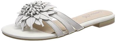 Caprice Damen Pantoletten, Weiß (White Nappa 102), 37 EU