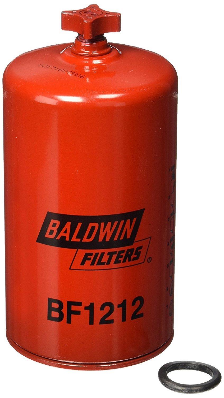 Baldwin BF1212 Heavy Duty Diesel Fuel Spin-On Filter (Pack of 6) by Baldwin