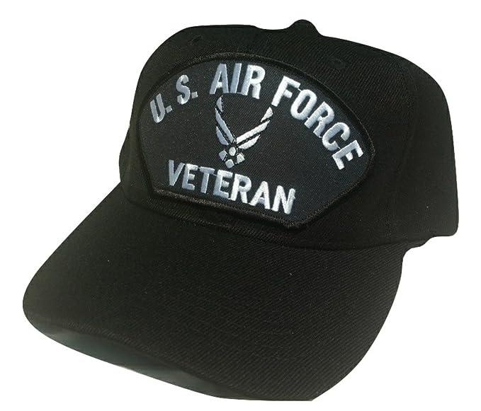 923832d16cf Amazon.com  HMC US Air Force Modern Logo Veteran Low Profile Adjustable  Ball Cap  Clothing