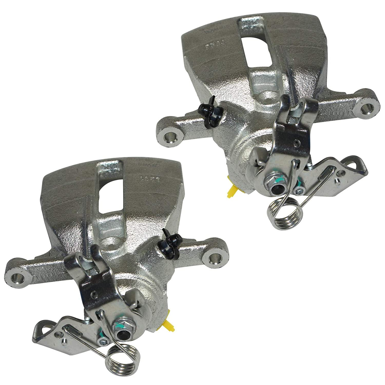 2x Bremssattel Bremszange Hinterachse hinten rechts links Bremssystem: TRW/Lucas