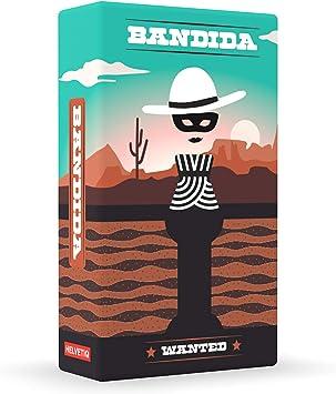 Bandida – Lúdilo, Juegos Cartas para niños, Juego cooperativo, Jugar en Familia, Games to go, helvetiq, Juego de Viaje, versión de Bolsillo: Amazon.es: Juguetes y juegos