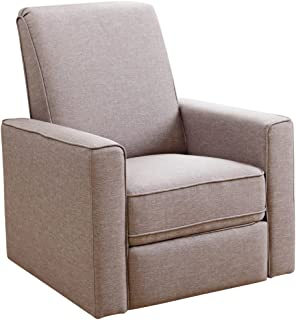 Abbyson Living H&ton Nursery Swivel Glider Recliner Chair in Taupe  sc 1 st  Amazon.com & Amazon.com: Abbyson Hampton Beige Nursery Swivel Glider Recliner ... islam-shia.org