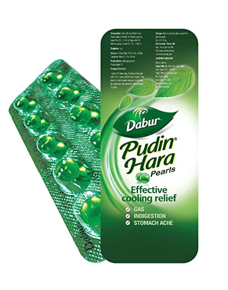Pudin Hara Digestive Pearls Capsules - 40 Capsules