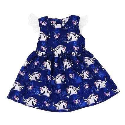 Baoblaze Vestido de Fiesta de Dama para Bebés Ideal de Fotografía de Bebé Día de Familia