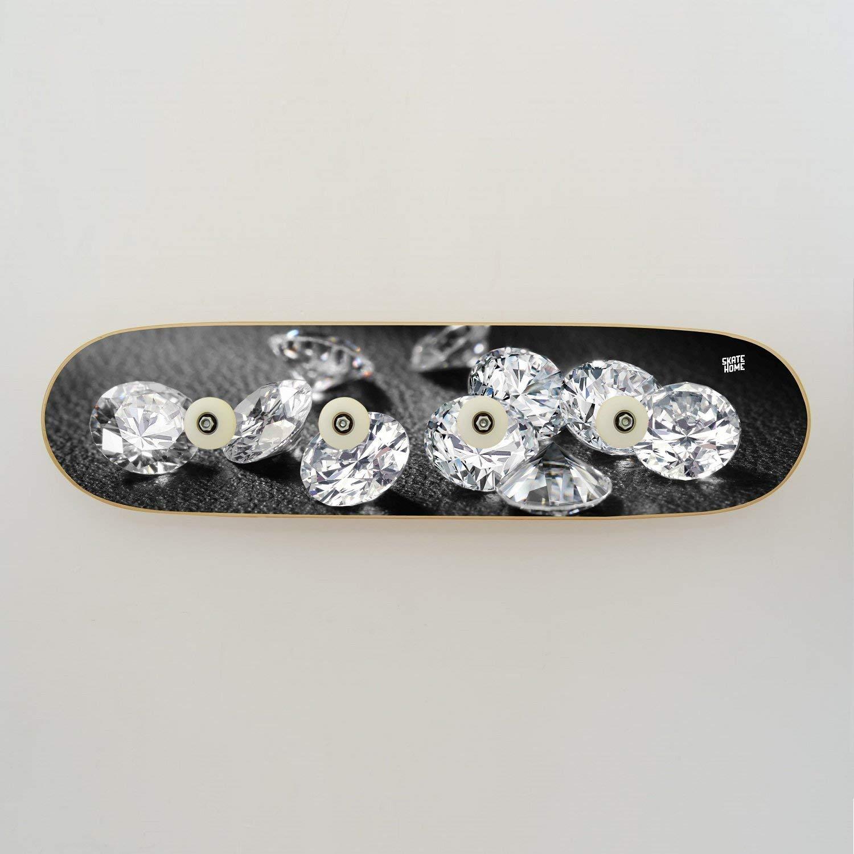 Perchero de skateboard, Cuatro Colgadores. Diseño de ...