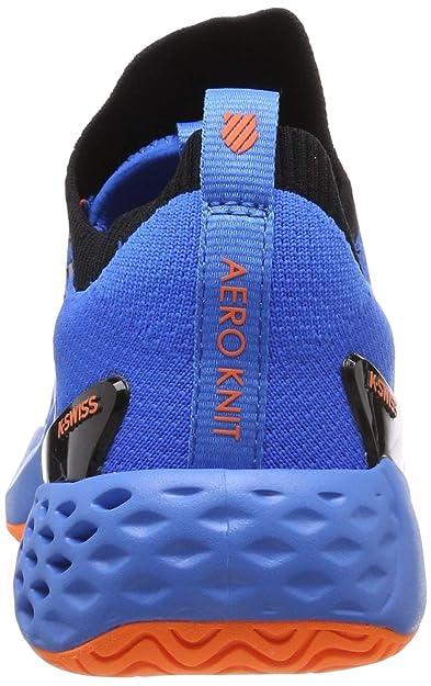 Amazon.com | K-Swiss Mens Aero Knit (Brillant Blue/Neon ...