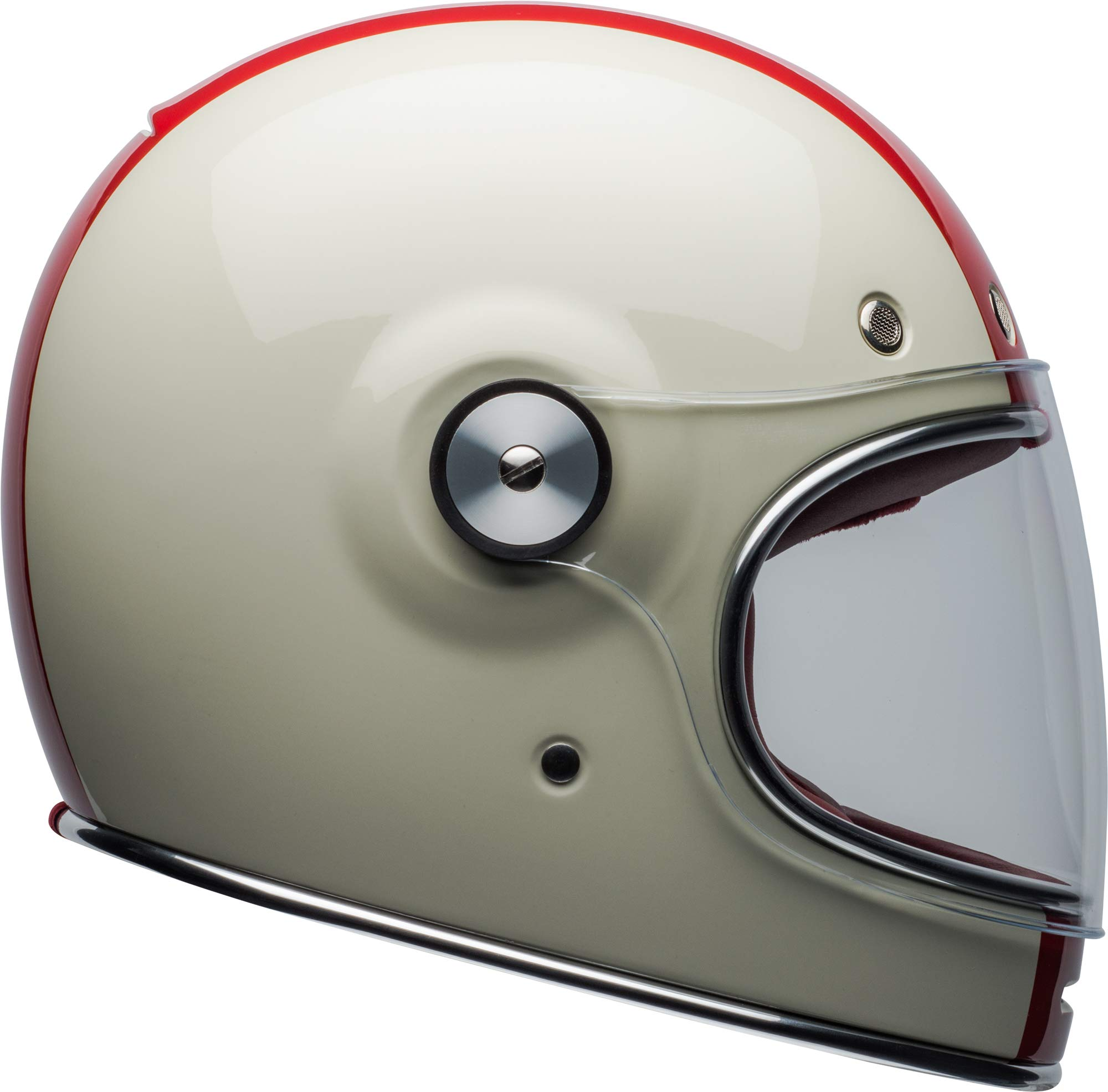 Bell Bullitt Helmet - Command (X-SMALL) (GLOSS VINTAGE WHITE/RED/BLUE) by Bell (Image #2)