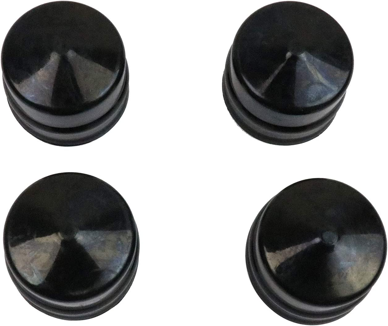 BestPartsCom New Pack of 4 Axle Cap Replacement for Husqvarna, Weed Eater, Poulan, Sears, Crafstman, Ryobi and Roper Lawn Mower, Lawn Tractor and Snow Blower Use 532104757