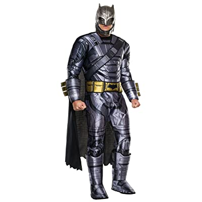 Adult Batman V Superman: Dawn of Justice- Deluxe Batman Armored Costume: Clothing