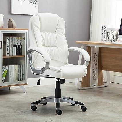 amazon com belleze ergonomic office pu leather chair executive