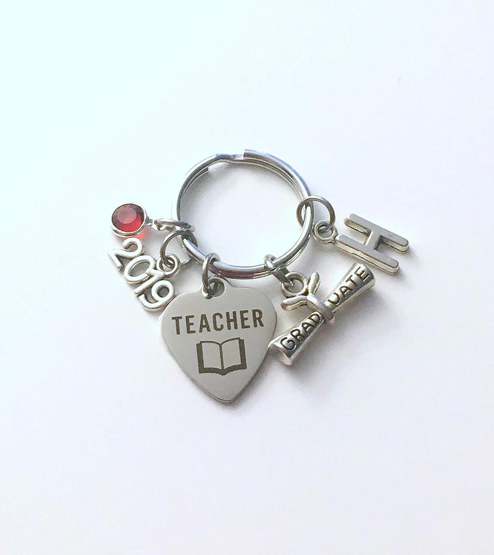 Amazon com: Graduation Gift for New Teacher Key Chain