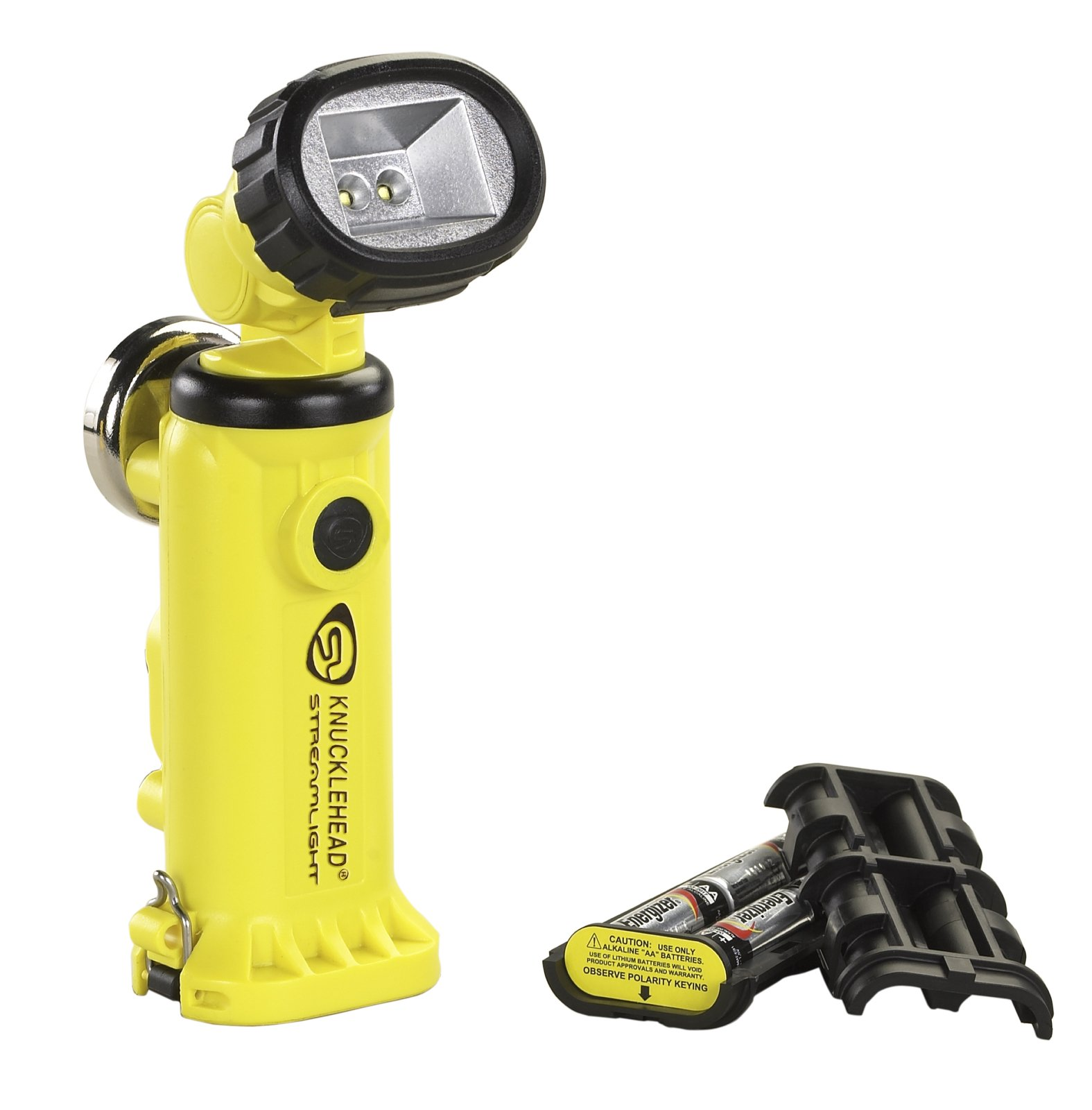 Streamlight 90642 Knucklehead Alkaline Model Work Light, Yellow - 200 Lumens