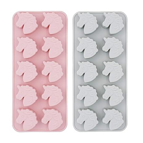 Amazon.com: MoldFun - Juego de 2 moldes de silicona con ...