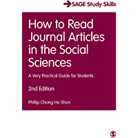 How to Read Journal Articles in the Social Sciences: A Very Practical Guide for Students (Student Success)