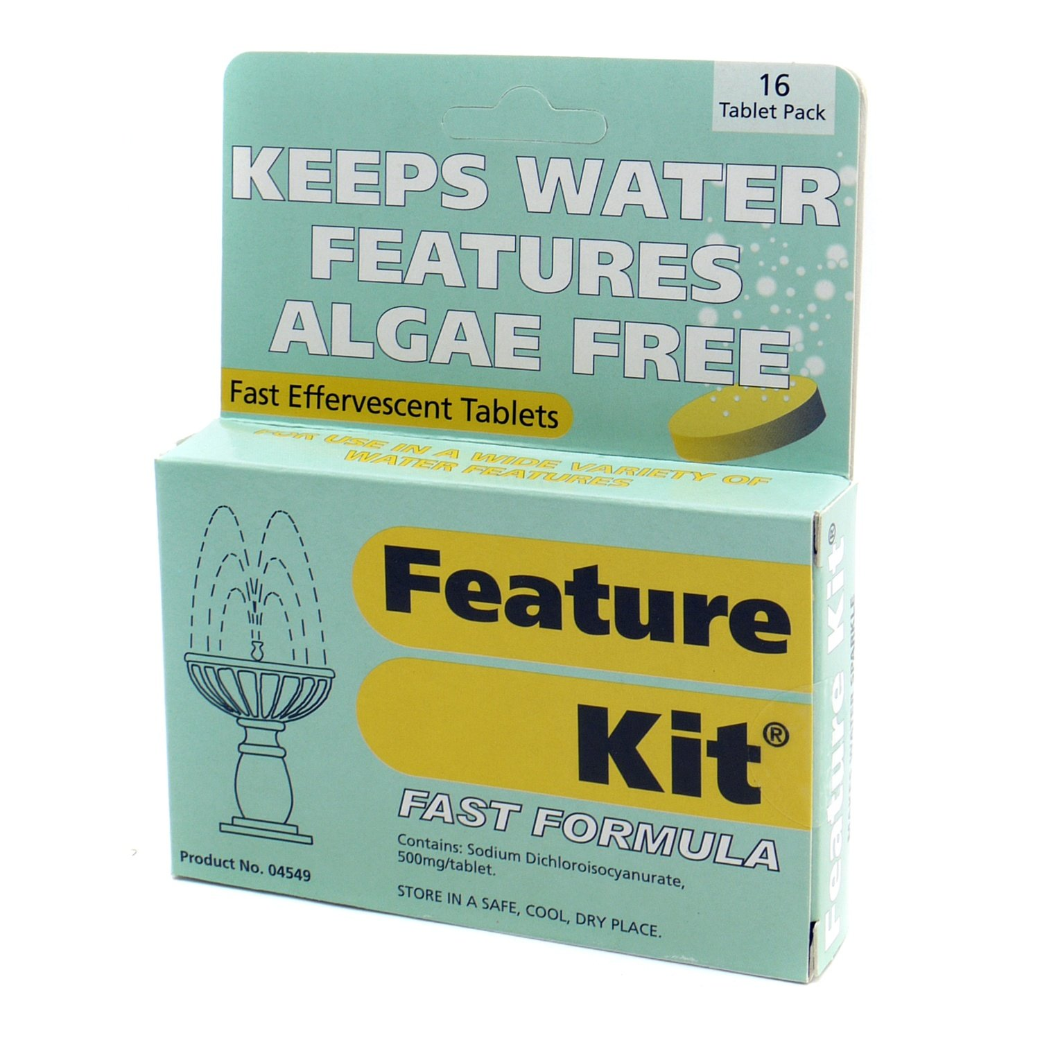 Nishikoi Feature Kit (16 Tablets) Helps Remove Algae in Water Features