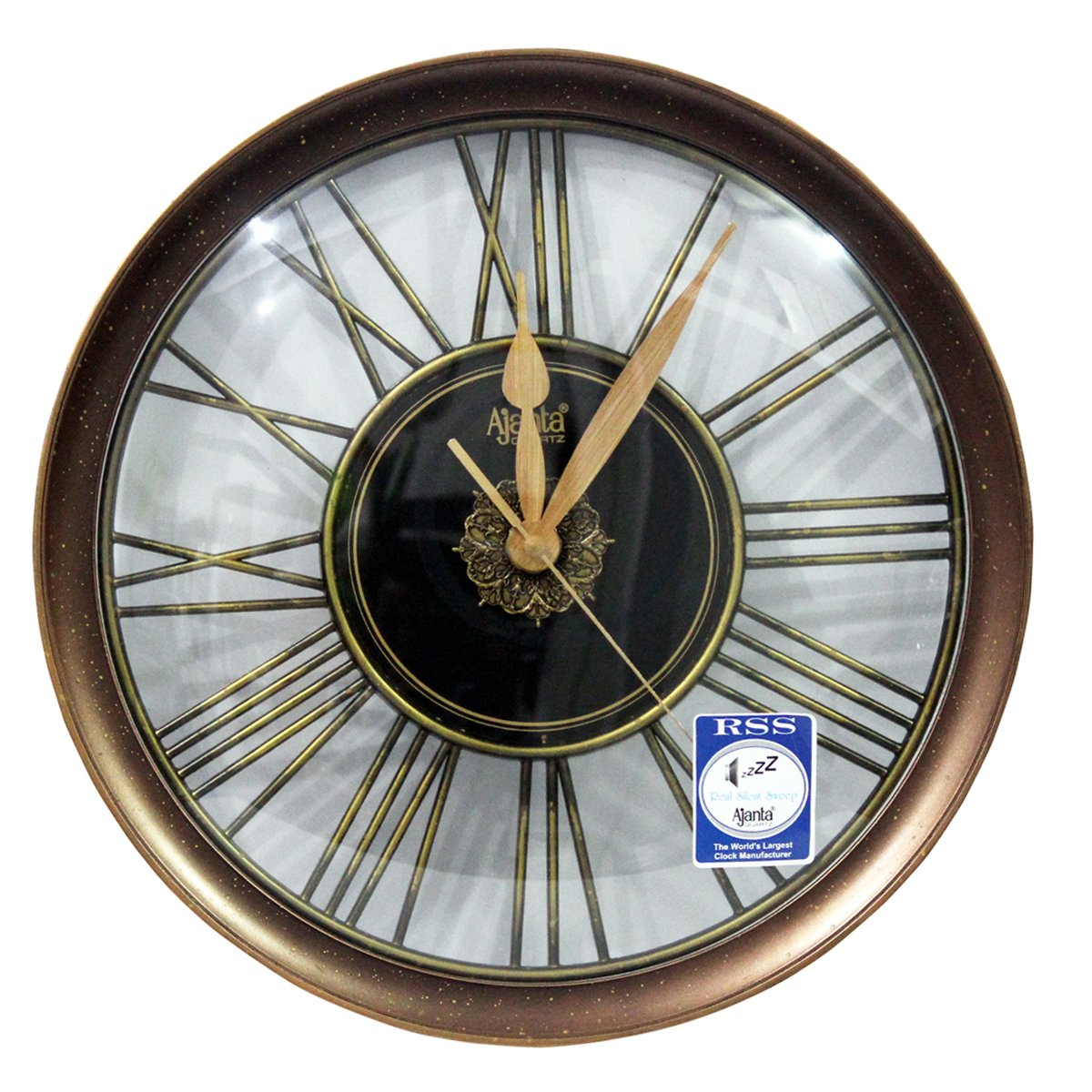 c04eb3e0e6 Buy Ajanta Orpat Wall Clocks Online At Low Prices In India Amazon