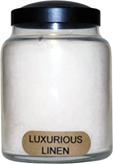 product image for A Cheerful Giver Luxurious Linen 6oz Baby Jar Candle, White