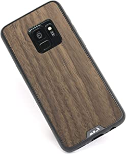 Mous - Protective Case for Samsung Galaxy S9 - Limitless 2.0 - Walnut - Screen Protector Included