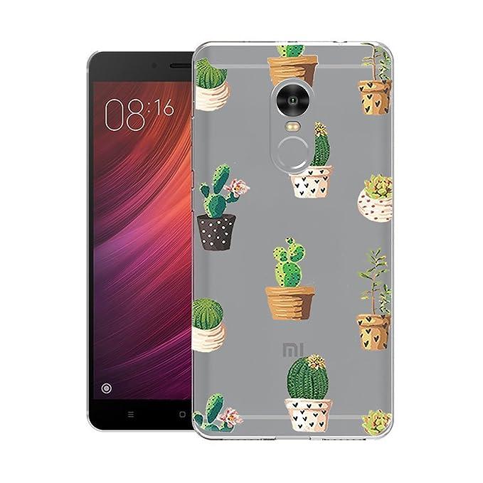 Caler Funda Xiaomi Redmi Note 4 / Note 4X Case, Suave TPU ...