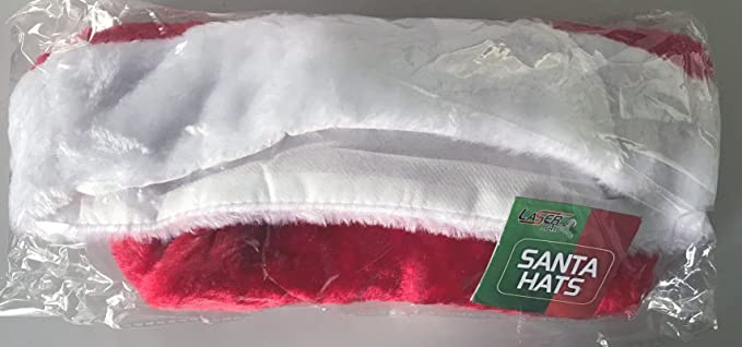 Laser Hats Santa