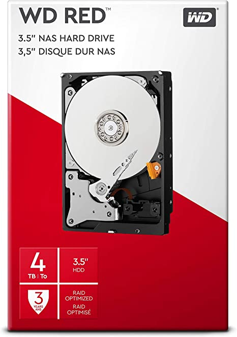 WD Red - Disco duro para NAS, 4 TB: Western-Digital: Amazon.es ...