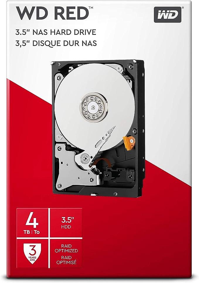 Western Digital 4 Tb 3 5 Inch Sata Internal Hard Drive Computers Accessories