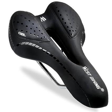 ae2401fbb8f Amazon.com   West Biking Bike Saddle