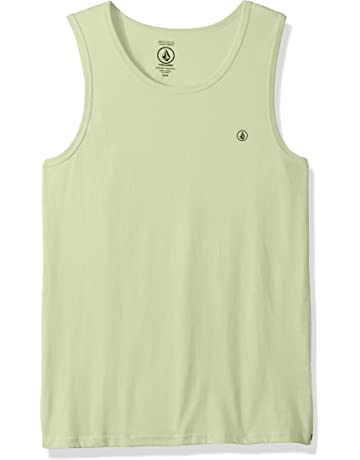 09cabd2621c1e Volcom Men s Solid Emblem Tank Top