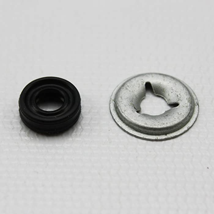 PART # WR2X7054 AND WD8X181 GENUINE OEM ORIGINAL GE HOTPOINT DISHWASHER DRAIN PUMP VALVE SHAFT PUSH-ON NUT PART # WR2X7054 AND SHAFT SEAL PART # WD8X181