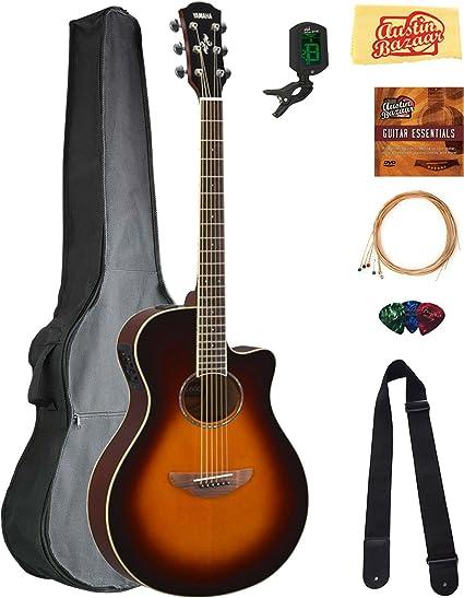Yamaha APX-600 - Guitarra acústica eléctrica: Amazon.es ...