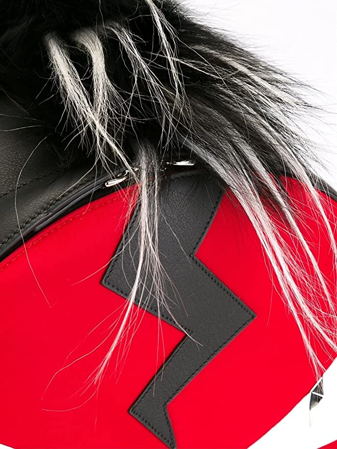Fendi Pour Homme Sac Bugs Monster œil Rouge Sac à dos avec fourrure   Amazon.fr  Informatique cba2249f745