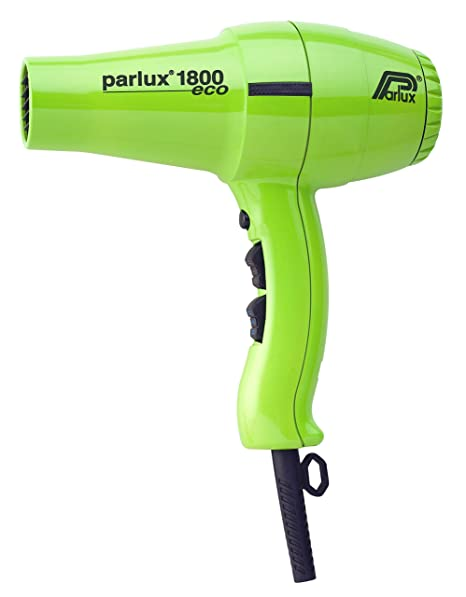 Parlux Hair Dryer 1800 - Secador de pelo, color verde