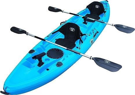 Amazon Com Bkc Uh Tk219 12 Foot Tandem Sit On Top Kayak 2